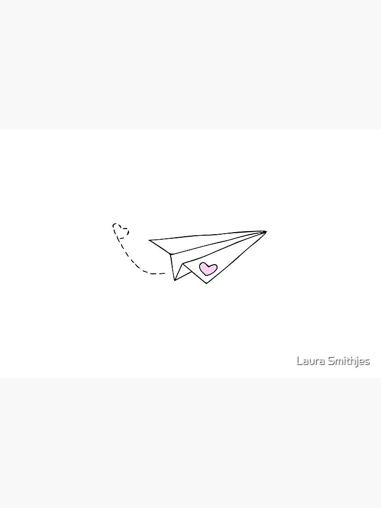 Paper Plane - cute by LauraS113