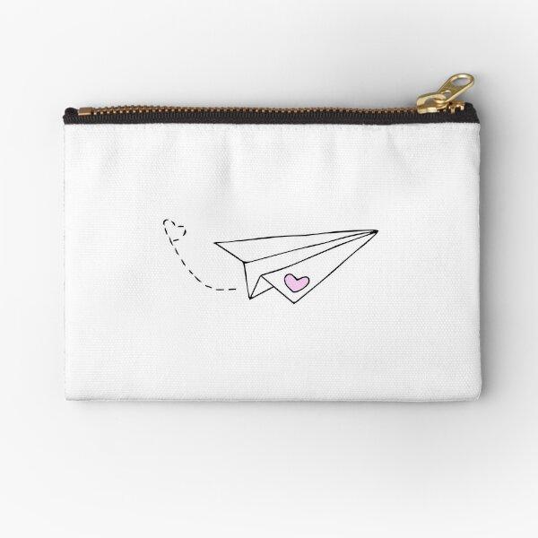 Paper Plane - cute Zipper Pouch
