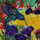Sweet Purple Hummingbird by RobinPedrero