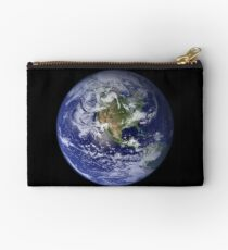 the earth seen from space Studio Pouch