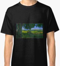 Rural area drawn Art Classic T-Shirt