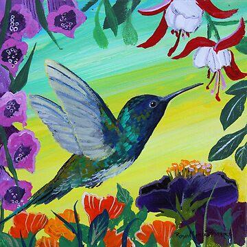 Hummingbird gathering nectar by RobinPedrero