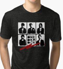 One OK Rock Stencil Tri-blend T-Shirt