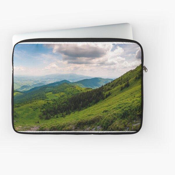 grassy slopes of Pikui mountain Laptop Sleeve