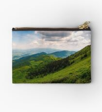 grassy slopes of Pikui mountain Studio Pouch