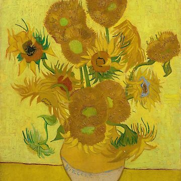 Sunflowers by Vincent Van Gogh by key-change