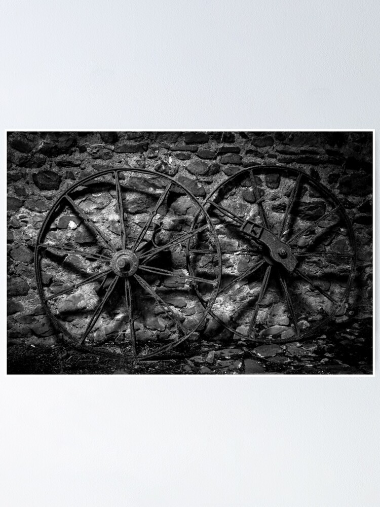Alternate view of Wheels mono Poster