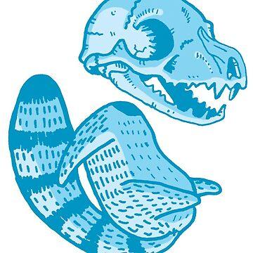 Bandit Bonehead by skulldaggery