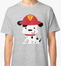 Fire House Dalmatian Puppy Dog Design Classic T-Shirt