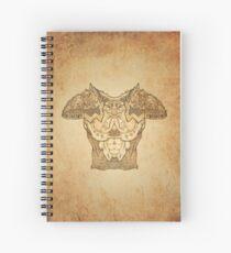 Fantasy Chestplate Spiral Notebook
