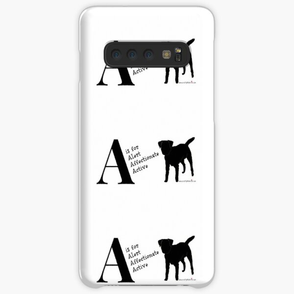 Personalised Border Terrier Gifts for Dog Lovers Letter & Traits Samsung Galaxy Snap Case