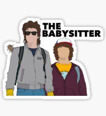 Steve Babysitter Design  Sticker