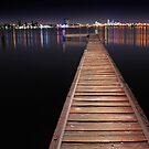 Jetty At Night  by EOS20