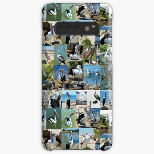 Collection Of Pelican Images In A Photo Collage, Samsung Galaxy Snap Case