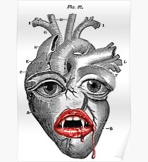 SAVAGE´S HEART. (Organs collection.) Poster