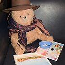 Teddy Bear the Artist by Richard  Windeyer