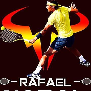 Rafa Nadal Roland Garros 2018 Tshirt de Tropicalis