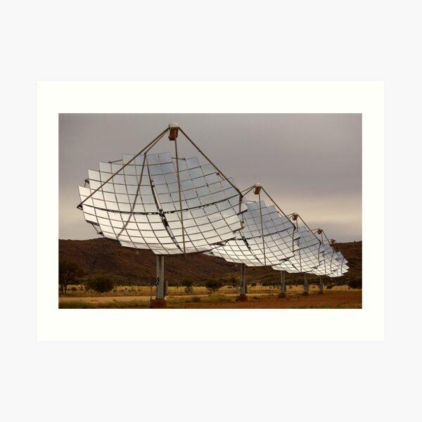 Solar Array Art Print
