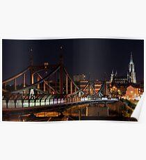 Ulm Munster Bridge Poster