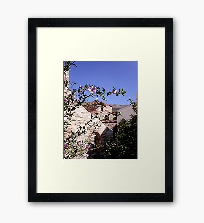 Paros Framed Print
