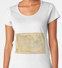 Map Of Key West 1906 Women's Premium T-Shirt