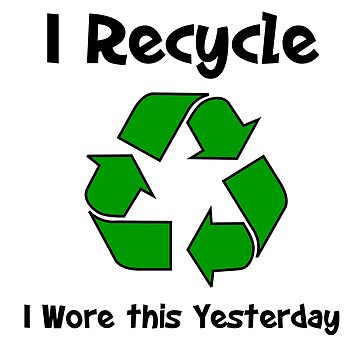 I Recycle by imphavok