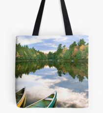 Canoeing the Sky River Tote Bag