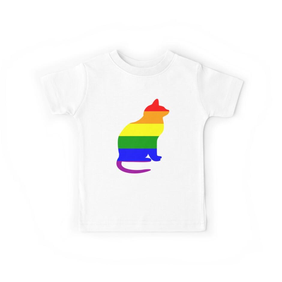 Regenbogen-Katzen-Gay Pride-Flagge LGBTQIAPK von cnkna