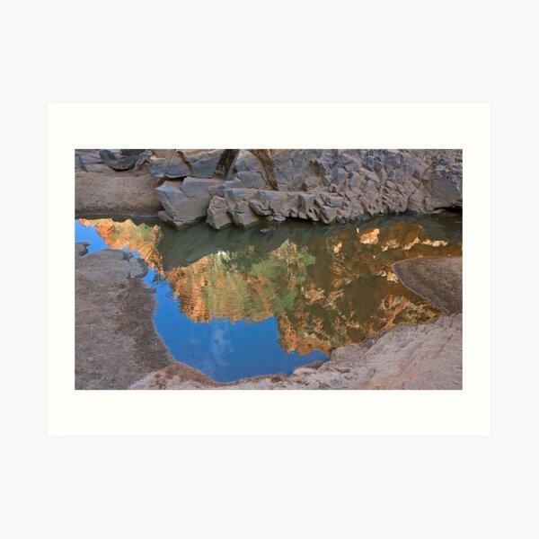 Ormiston Gorge Reflection Art Print