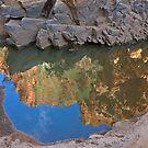 Ormiston Gorge Reflection by Richard  Windeyer