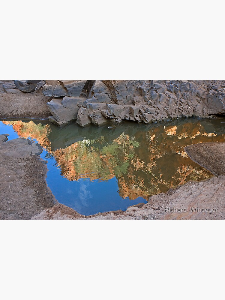 Ormiston Gorge Reflection by RICHARDW