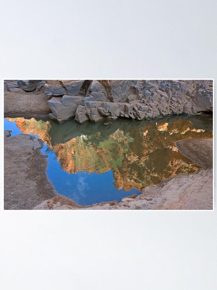 Alternate view of Ormiston Gorge Reflection Poster