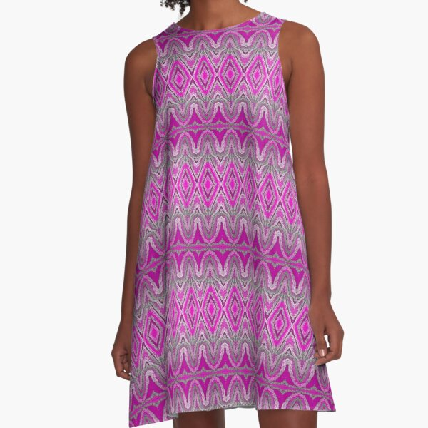 Fully Delightful  A-Line Dress