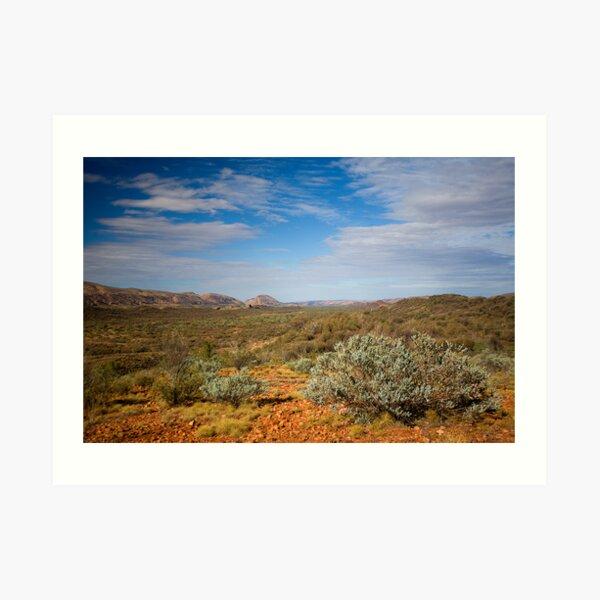 Western MacDonnell Ranges Art Print