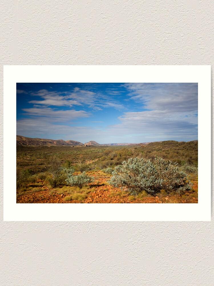 Alternate view of Western MacDonnell Ranges Art Print