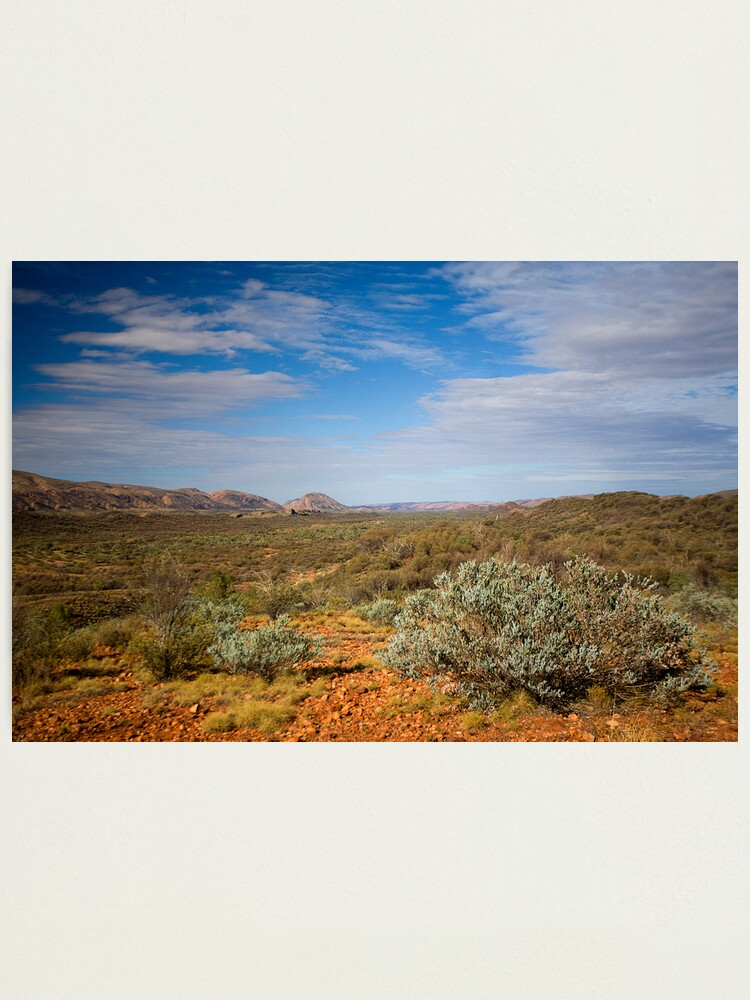 Alternate view of Western MacDonnell Ranges Photographic Print