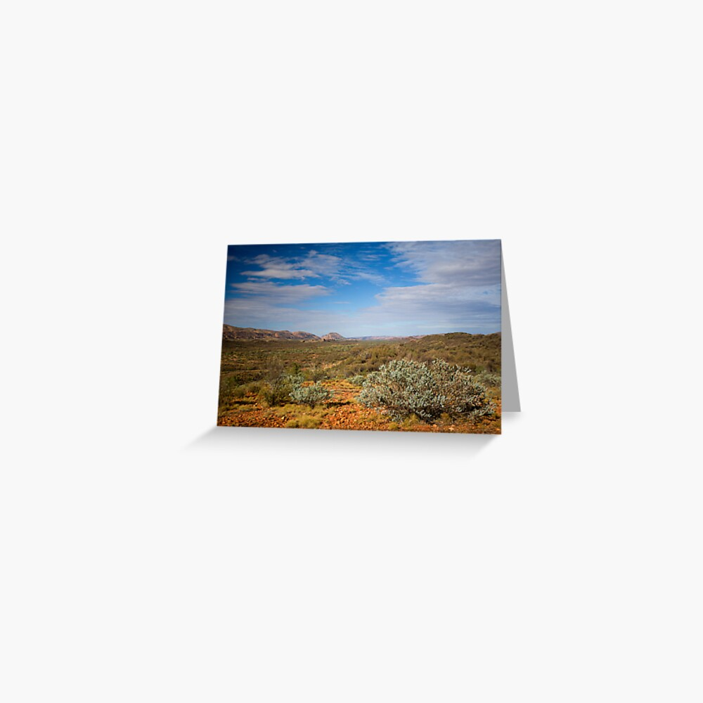 Western MacDonnell Ranges Greeting Card