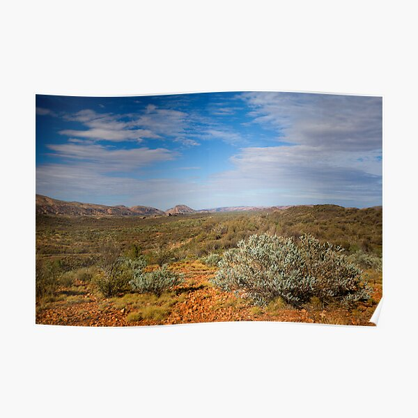 Western MacDonnell Ranges Poster