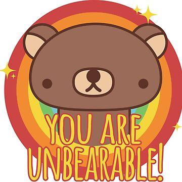 Unbearable Bear by diosore