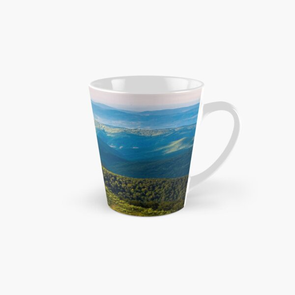 sun lit valley in afternoon Tall Mug
