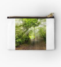 dirt road through beech forest Studio Pouch