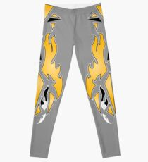 Latino HEAT!!! Grey Leggings