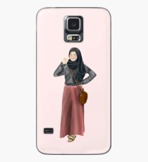 Simple Chick - Hijab Girl Case/Skin for Samsung Galaxy