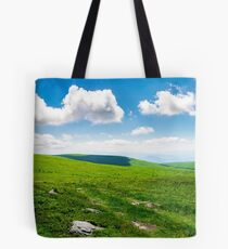 beautiful panoramic mountainous landscape Tote Bag