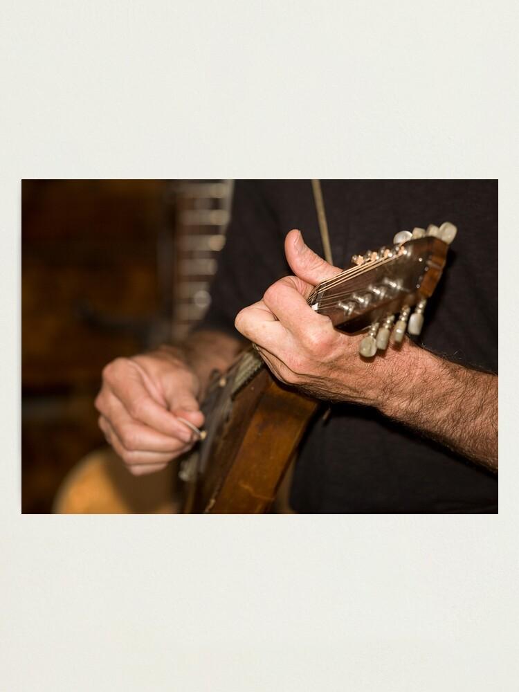 Alternate view of Mandolin Player Photographic Print