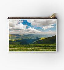 rolling hill of Carpathian mountains Studio Pouch