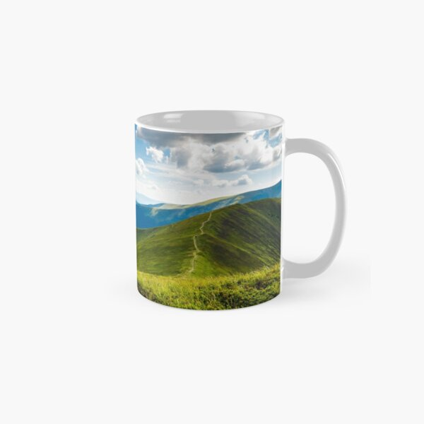 beautiful scenery on a summer day in mountains Classic Mug