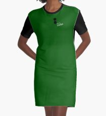 Solitaire Graphic T-Shirt Dress