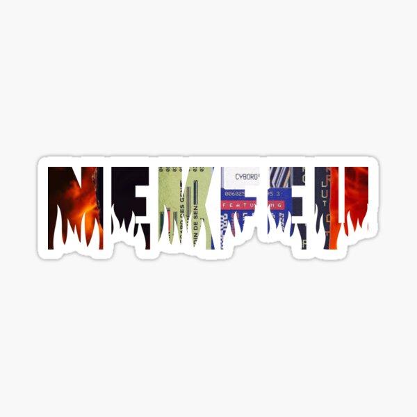 Nekfeu - Cyborg / Feu Sticker