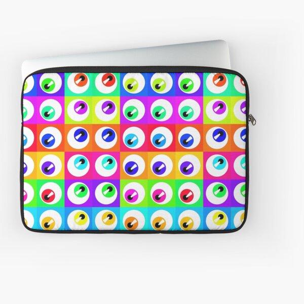 Eyeballs Laptop Sleeve